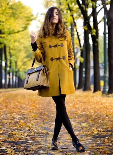 best service 8ddd8 c34da Look color senape Italian Fashion Bloggers