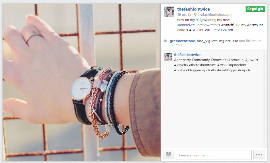 Chi non si sazia mai di moda ed ama trovare ispirazione dalle foto outfit dovrebbe aggiungere assolutamente Rossella Padolino tra i suoi contatti Instagram!