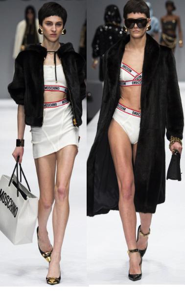 sporty underwear and fur