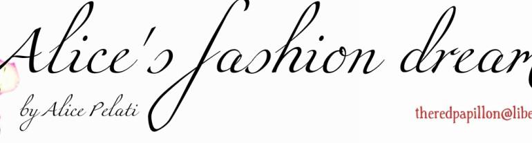 Alice's fashion dream