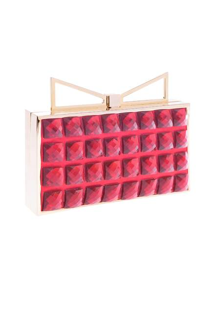 Borsa Sara Battaglia lady me red passion