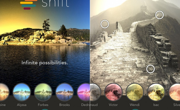 Shift : l'app alternativa per creare filtri su iPhone