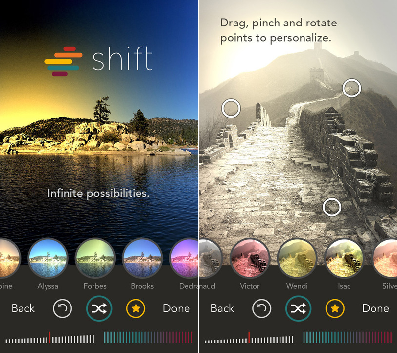 Shift, l'app per creare filtri su Instagram con l'iPhone