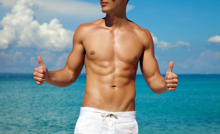 Trend Beauty uomo 2017 per la spiaggia